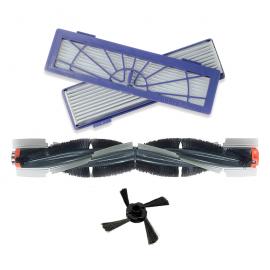 Фильтры , щетка основная, щетка боковая для Neato Botvac D 65 70 75 80 85 D3 D5 D7  (НАБОР)